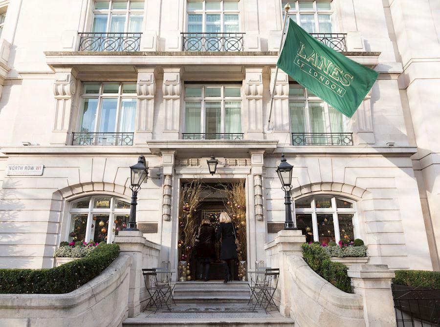 London Marriott Hotel Park Lane Christmas