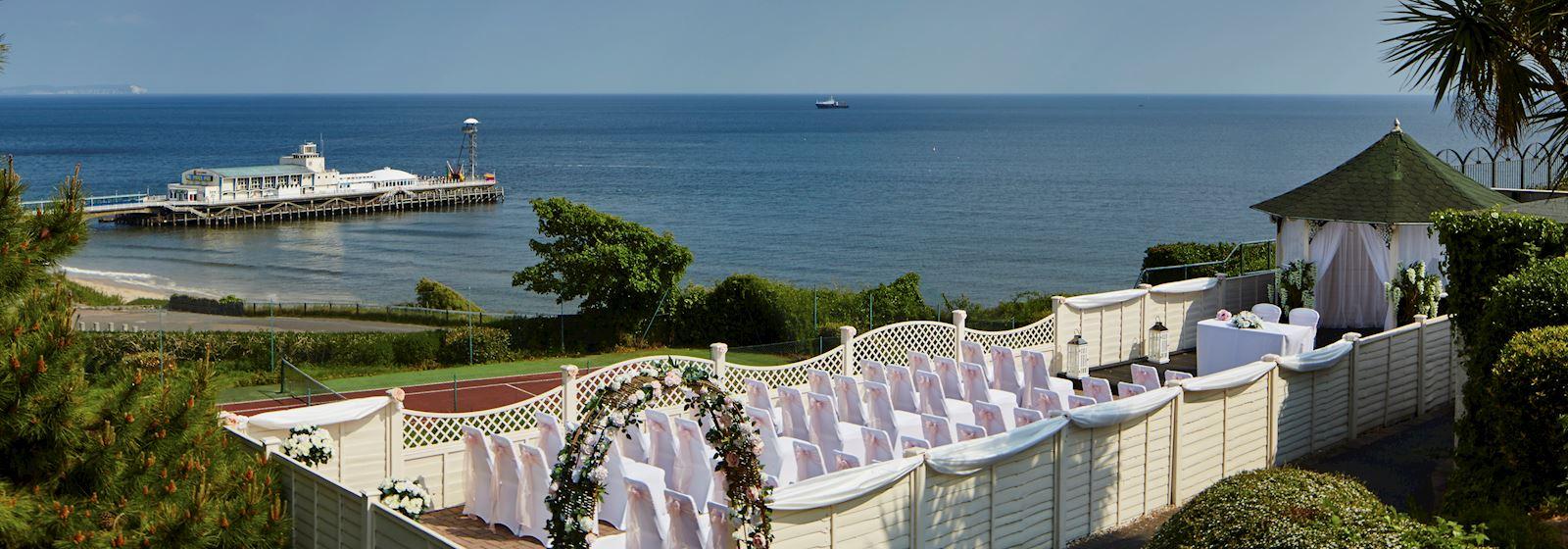 Bournemouth Highcliff Marriott Hotel Weddings