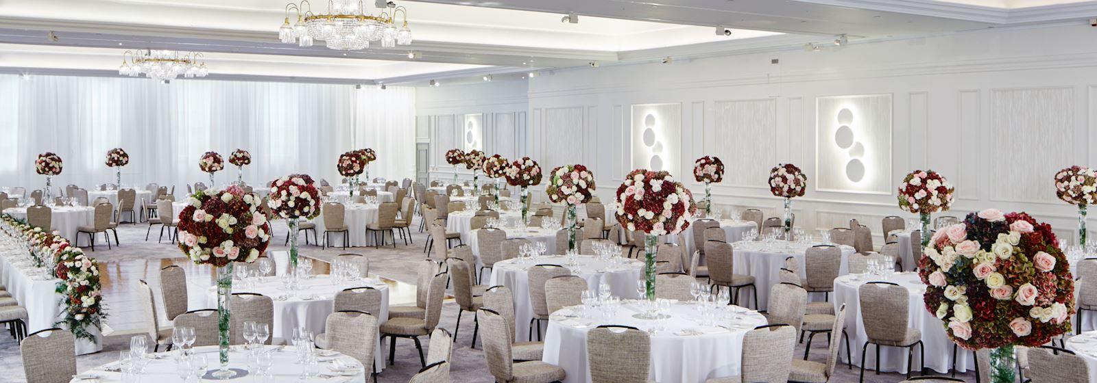london marriott hotel grosvenor square wedding party spaces