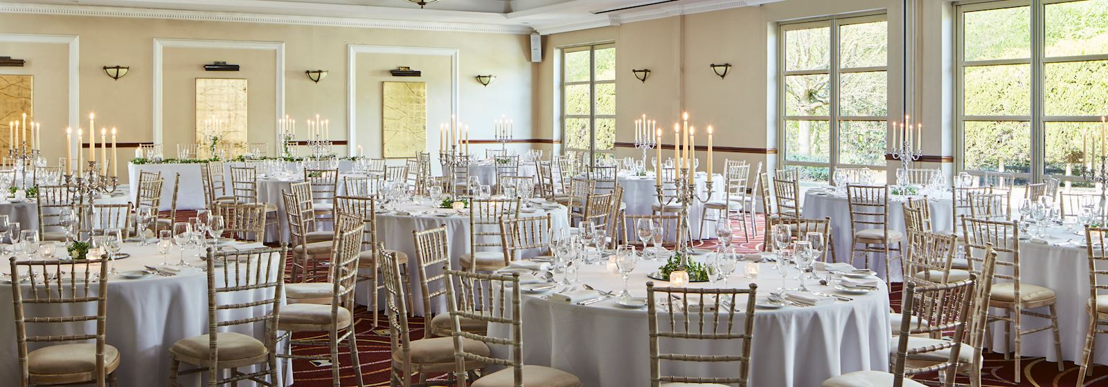 Huntingdon Marriott Hotel Special Occasions
