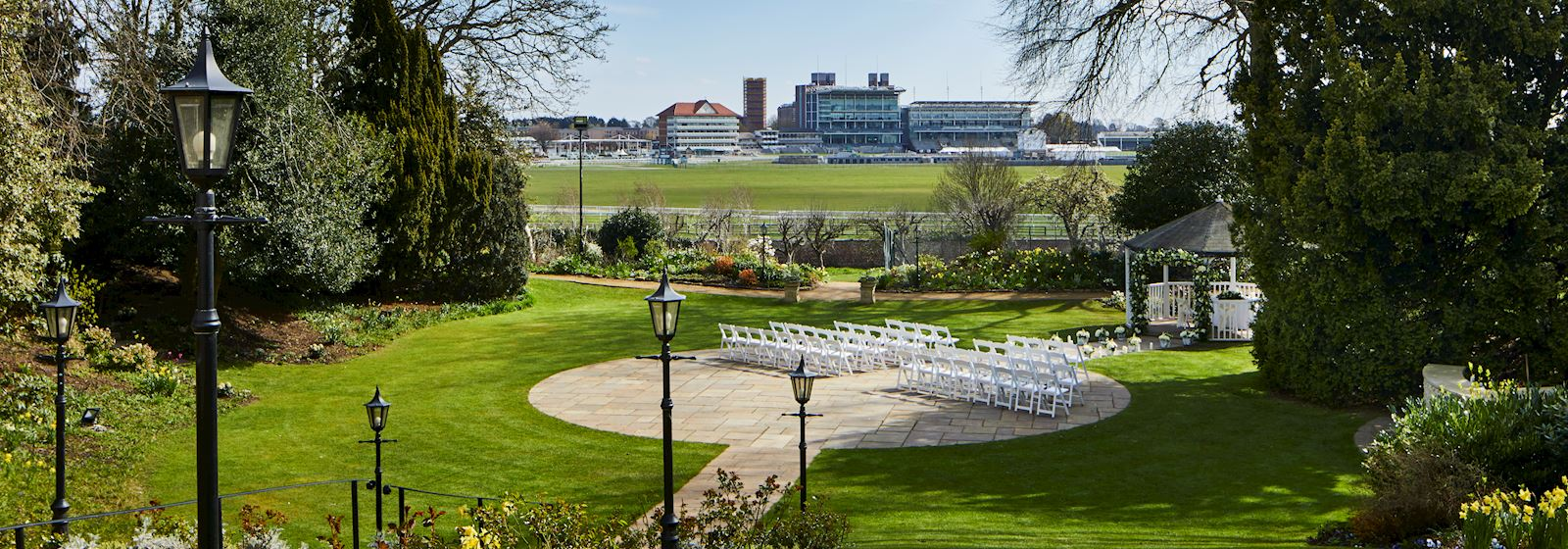 York Marriott Hotel Outdoor Wedding Ceremony